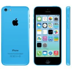 Голубой цвет iPhone 5C