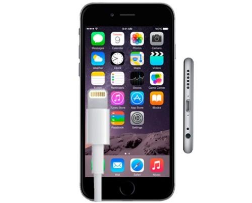 Разъемы, кабель USB и iPhone 6