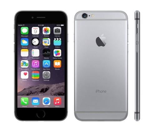 Вид спереди, сзади и сбоку iPhone 6