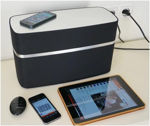 Устройства Apple и система Bowers&Wilkins A7