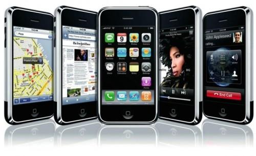 Пять iPhone 2G