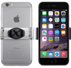 Автодержатель belkin и iPhone 6 - вид сзади и спереди