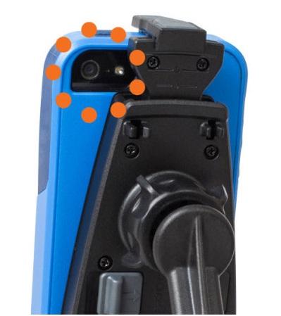iPhone 6 и автодержатель iPro2