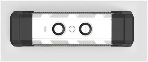 Верхняя крышка системы FugooTough с кнопками управления