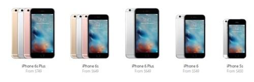 iPhone модели