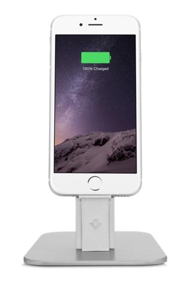 Подставка Twelve South Forte для Apple Watch сталь черный 12-1506