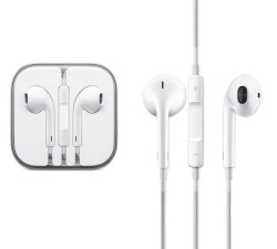 Наушники Apple EarPods и регуляторы громкости