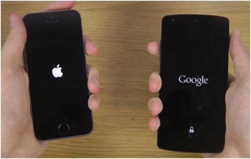 Apple и Google смартфоны