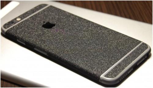 Алмазная крошка в накладке для iphone