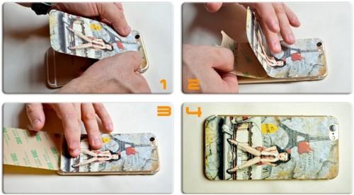 Инструкция как наклеить накладку к iPhone