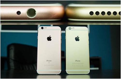 Сравнение размеров моделей iPhone 6 и iPhone 6s