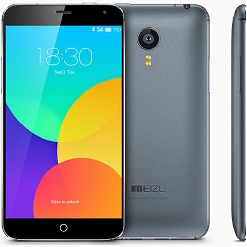 Вид спереди, сзади и сбоку смартфона Meizu MX4