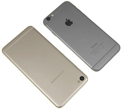iPhone 6 и Lenovo Sisley S90