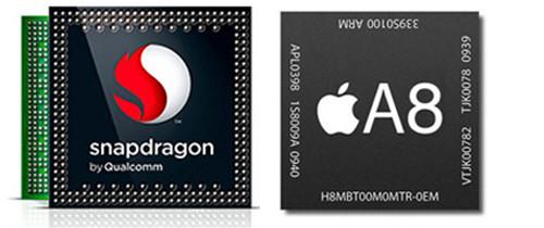 Процессоры Nexus и iPhone