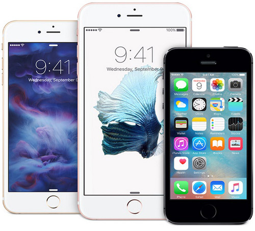 Три модели iPhone