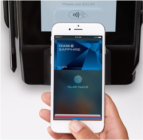 Оплата бесконтактная при помощи iphone