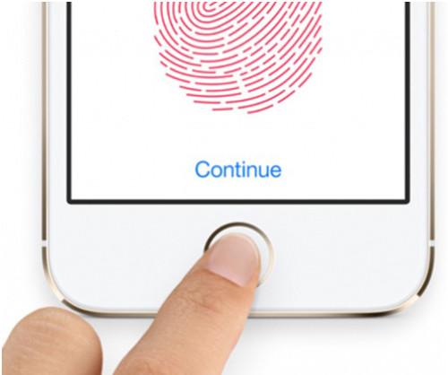 Сканер отпечатка пальцев - Touch id