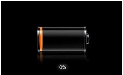 Картинка разряженной батареи