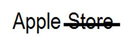 Изменение названия Apple Store