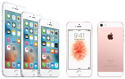Все аппараты iPhone