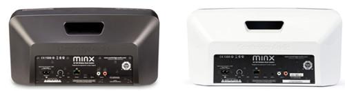 Вид сзади колонок MinxAir 100 Speaker