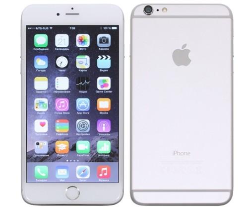 Вид сзади и спереди iPhone 6