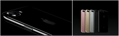 iphone 7 цветовая гамма