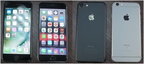 Айфон 6с и айфон 7