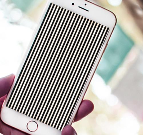 Полоски на дисплее айфона