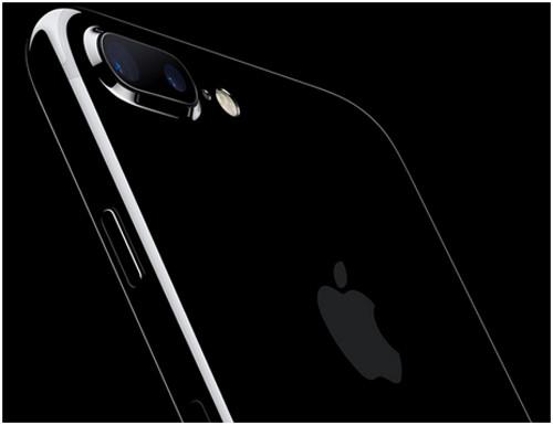 Айфон 7 в цвете черный оникс