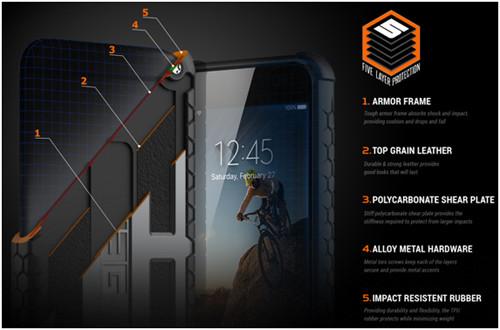 Строение чехла для айфон 7