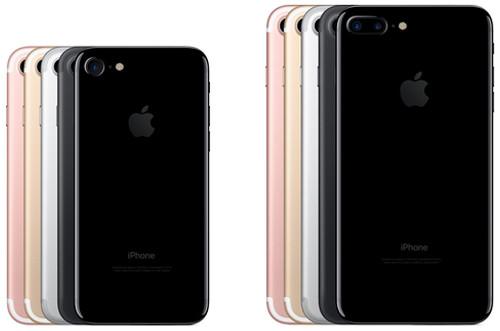 Разные цвета iPhone 7 и iPhone 7 plus