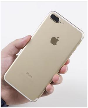 """Айфон 7 в """"золоте"""""""
