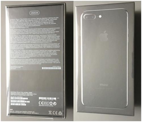 Коробка iPhone 7 в черном цвете