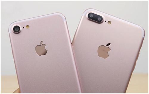 iPhone 6 и iPhone 7 розовые