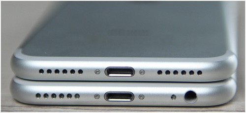 iPhone 6 и iPhone 7 - сравнение разъемов