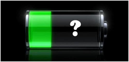 Знак разряженной батареи