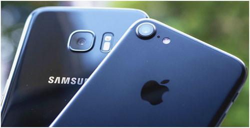 Сравнение камеры iPhone 7 и Samsung Galaxy S7