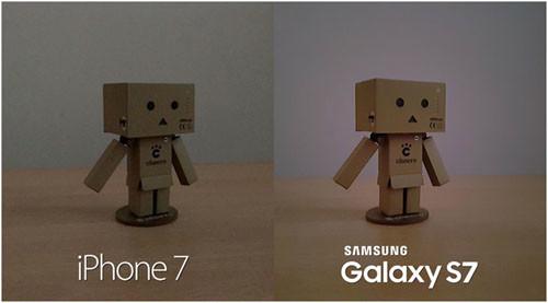 Фотографии. сделанные с помощью камер Samsung Galaxy S7 и iPhone 7