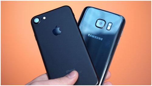 iPhone 7 и Samsung Galaxy S7