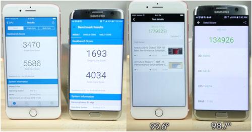 iPhone 7 и Samsung S7