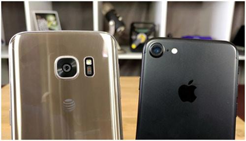 Камеры iPhone 7 и Samsung Galaxy 7